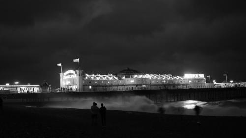 Black & White Pier